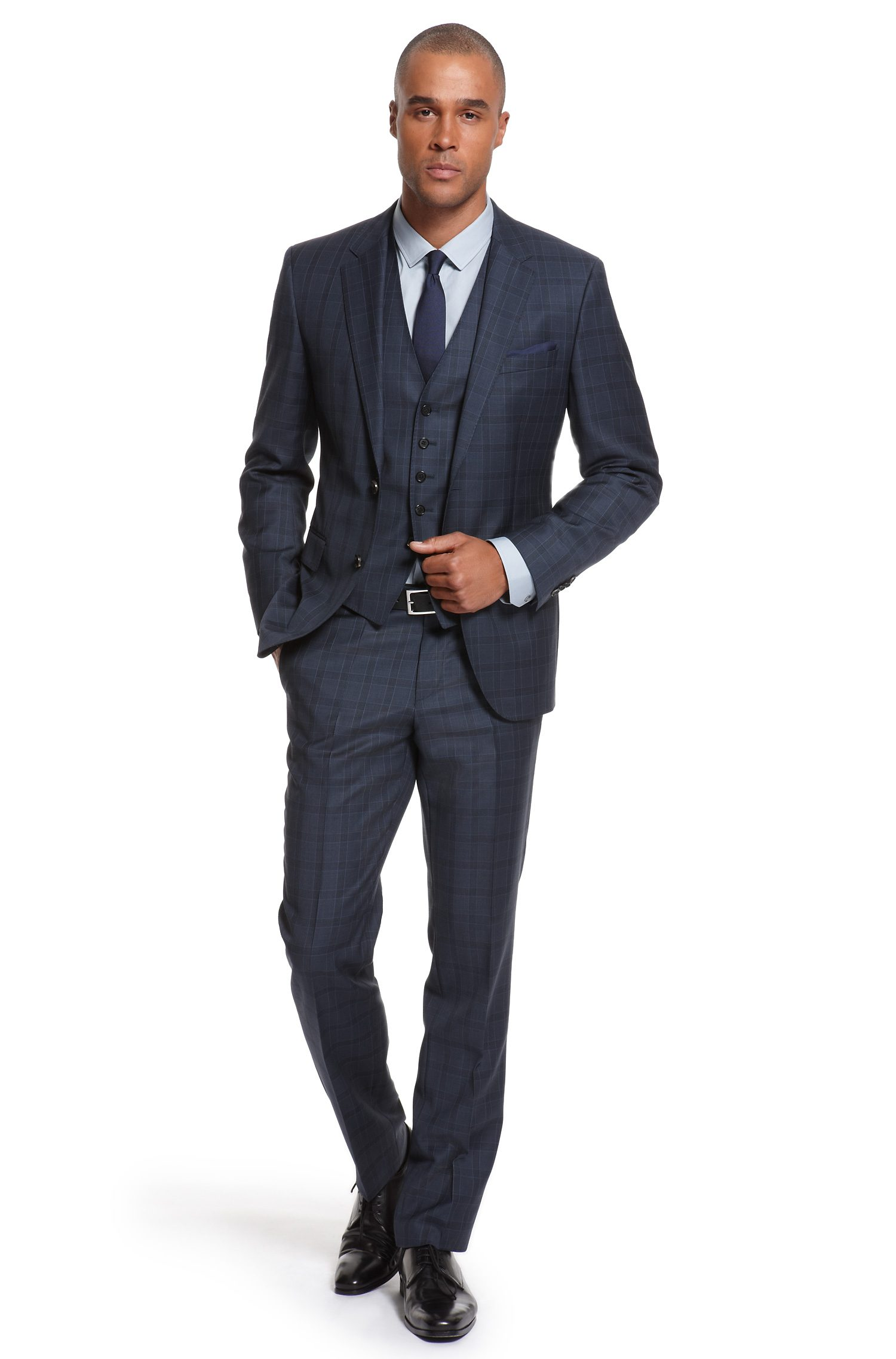 Navy blue suits... they're not just for bankers - L Squared Style